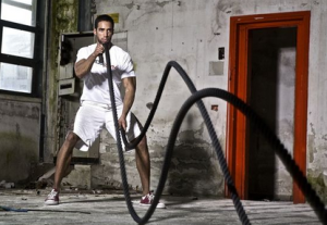 Battling Ropes Metabolic Conditioning